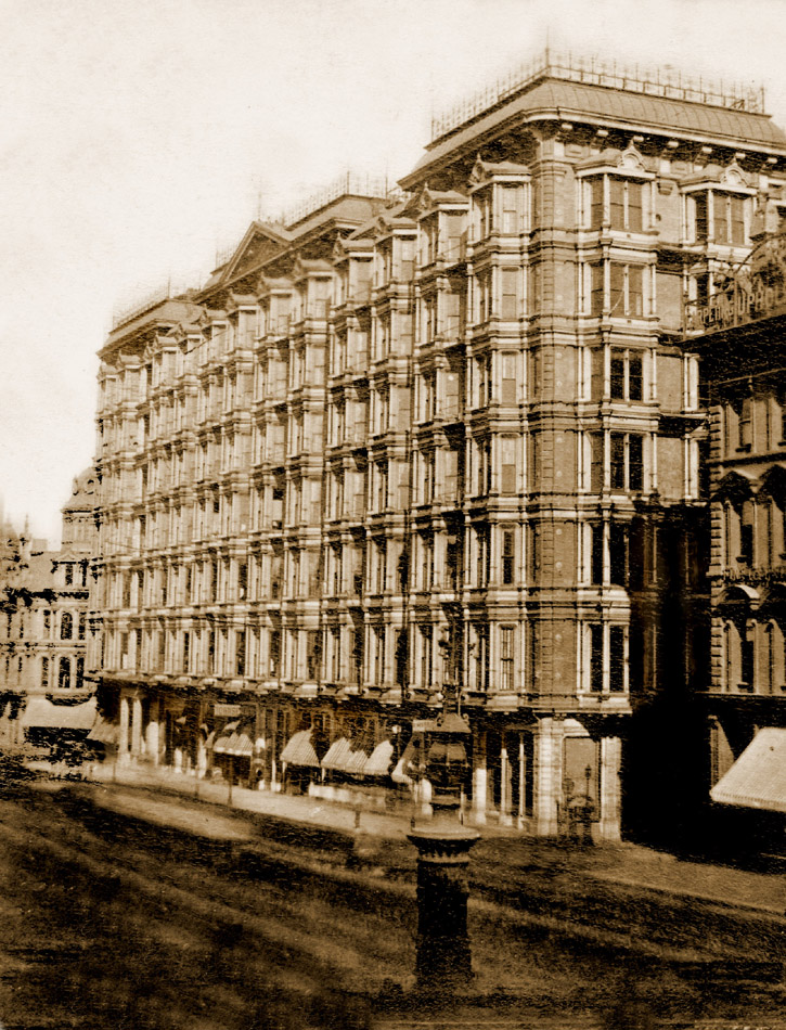 The Palace Hotel 1883