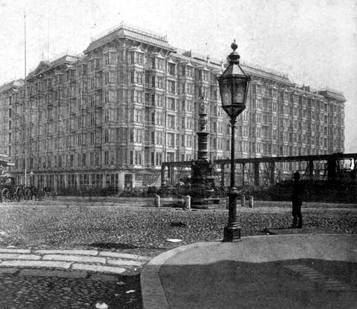 The Palace Hotel 1880