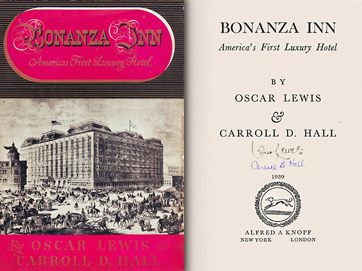 Bonanza Inn First Edition 1939