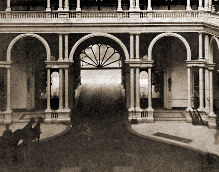 Carriage Enterance 1880s