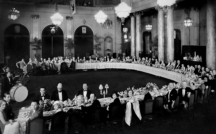 Hollywood Stars dinner PH GC 1932