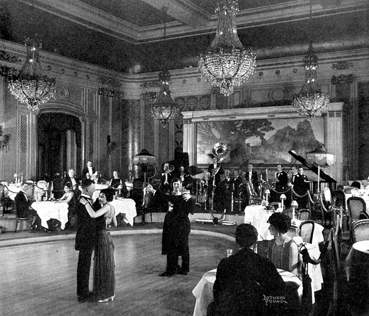 Eclectic ephemera when the local palais was the place to for 1920s hotel decor